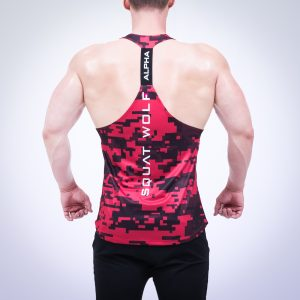 Gym Stringer - Red (L)