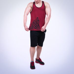 Gym Tank Red Wolf