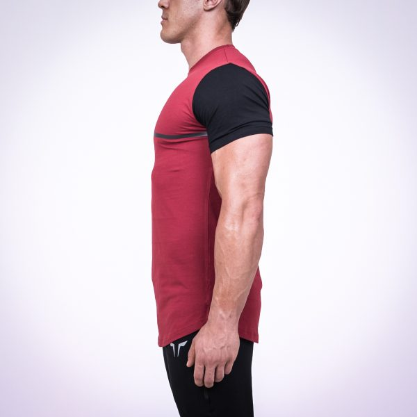 Urban fit tee red