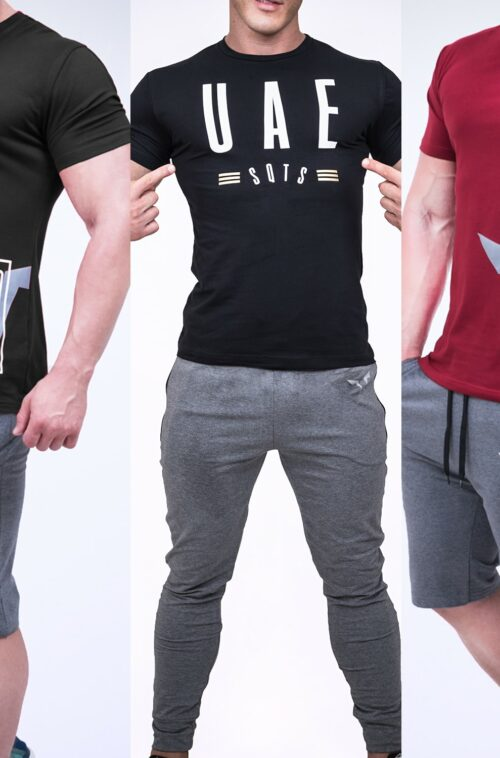 Muscle Fit Tshirts Combo