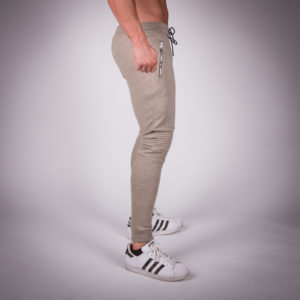 Ribbed jogger pants
