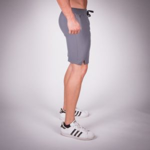 essential shorts grey