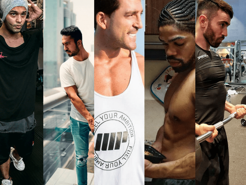 Most Fit Dubai-based Instagram Profiles (Male) with the Most Eye-Catching Content