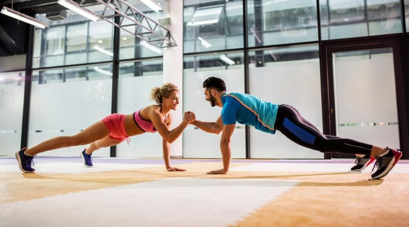Why your gym buddy should be your real partner
