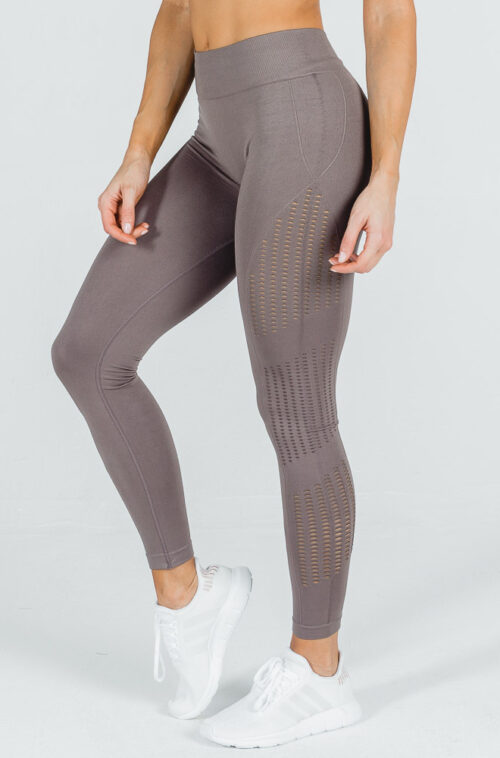 Seamless Leggings Beige