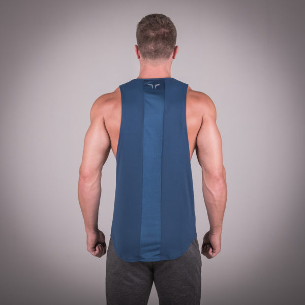 Muscle Stringer Blue