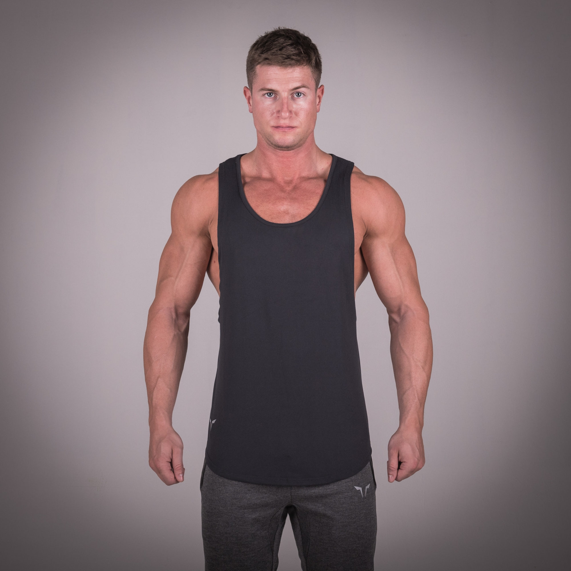 4e8d3b1c851c0e Train Insane with Muscle Stringer - Black by Squat Wolf