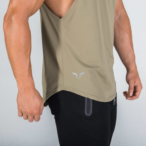 Muscle Stringer - Olive