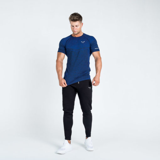 Seamless Dry-Knit Tee Electro Blue
