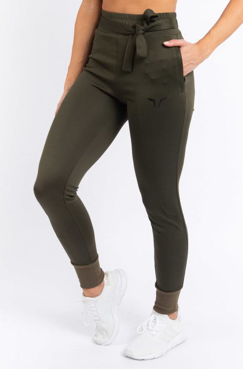 She-Wolf Joggers Olive