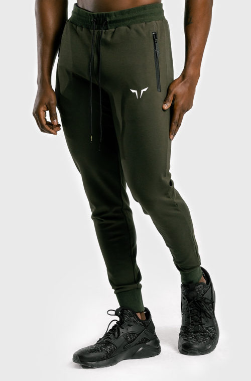 Statement-Classics-Jogger-pants-Olive