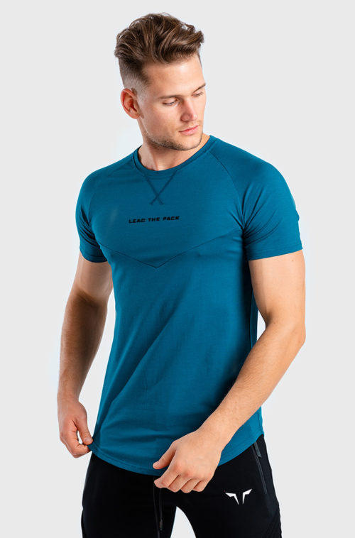 Statement-Tee-Teal