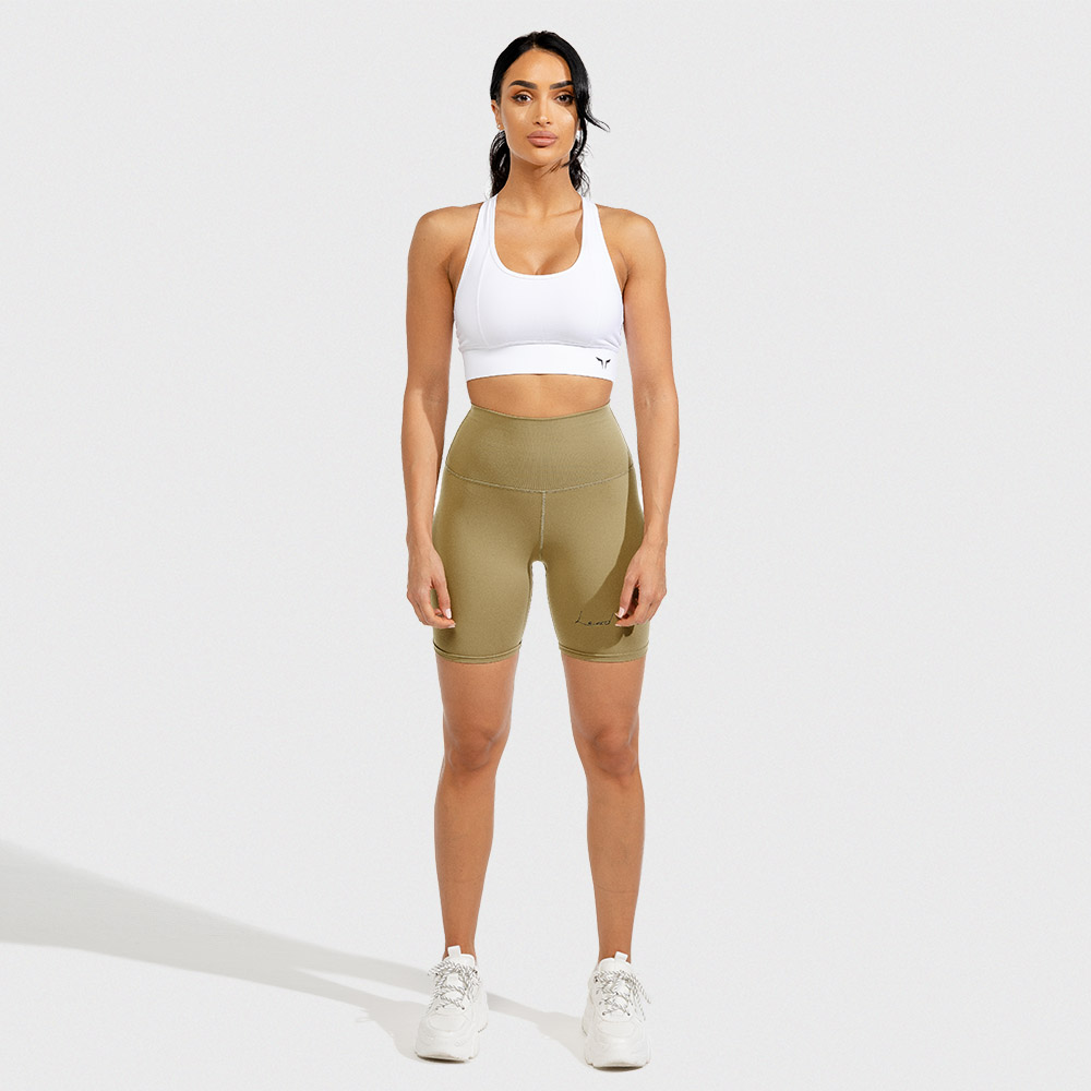 Vibe Cycling Shorts - Nude Athleisure Shorts for women by