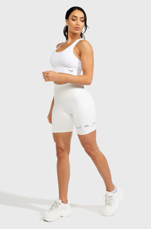Vibe Cycling Shorts - Black Athleisure Shorts for women by