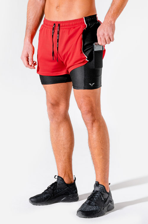hybrid-2-in-1-shorts-red