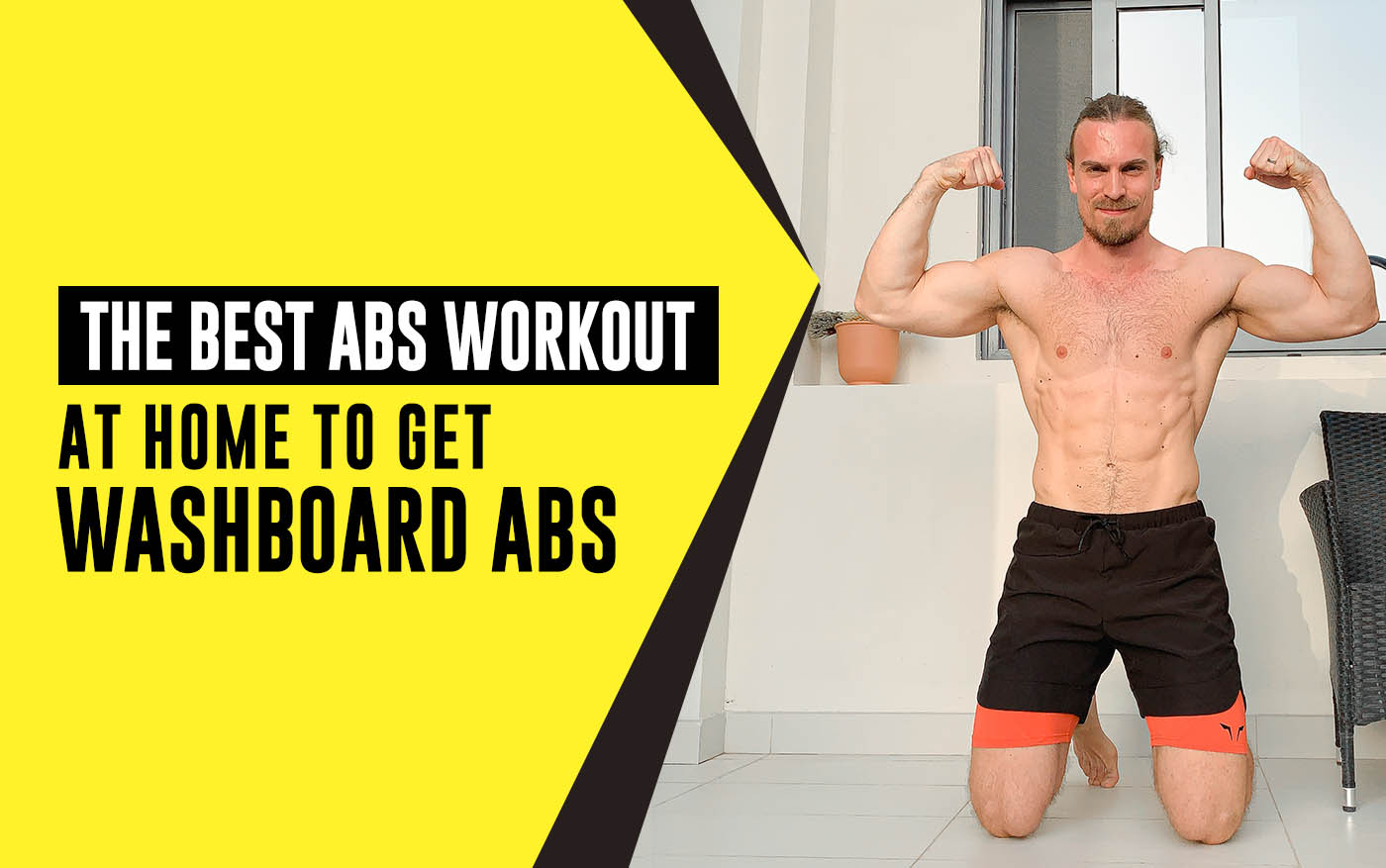 The Best Abs Workout At Home To Get Washboard Abs For Men Squat Wolf